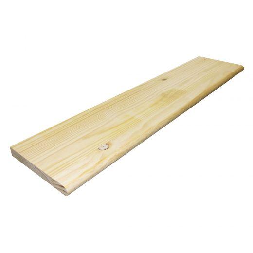 "1-1/8"" x 10-1/2"" x 42"" Knotty Pine Bull Nose Panels"