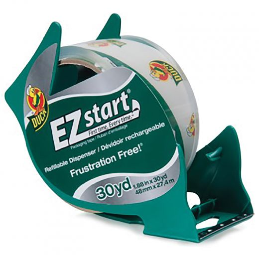 EZ Start Brand Packing Tape - Clear, 1.88 In. x 30 Yd