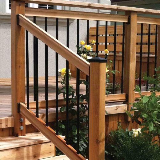 Wood Railing Kit Stair Rail Connector-4/Pack