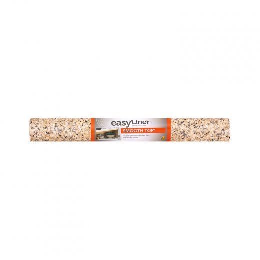Smooth Top EasyLiner Brand Shelf Liner - Beige Granite