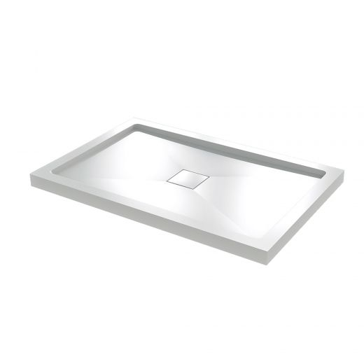 "60"" Low Threshold Shower Base with Hidden Drain"