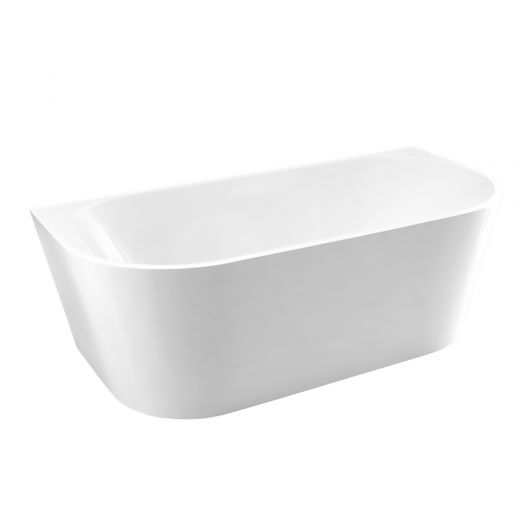 Back To Wall Freestanding Tub