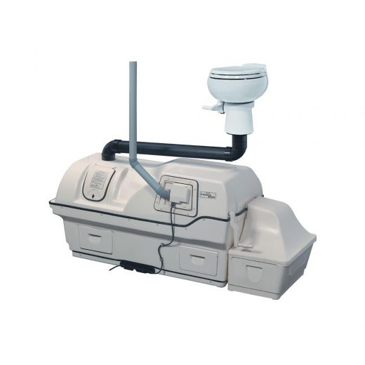 High Capacity Electric Composting Toilet System