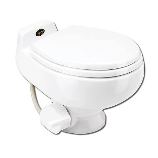 White Ceramic Ultra Low Flush Toilet