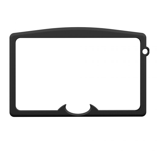 Osburn 1600 Black Cast Iron Door Overlay