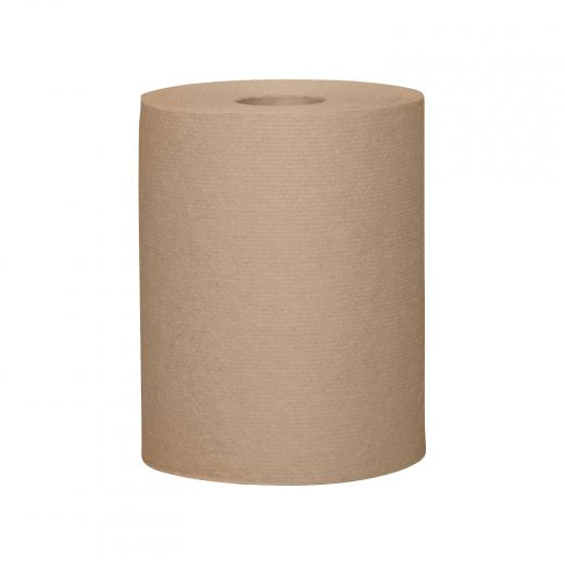 "Brown Handpaper 8"" x 205'- 24/Pack"