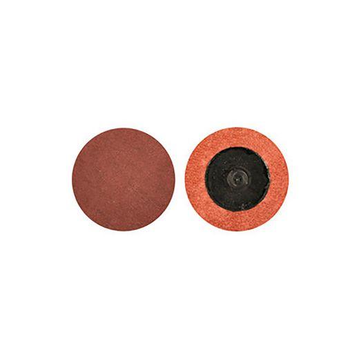 "1-1/2"" 24 Grit Aluminum Oxide Quick Change Disk"
