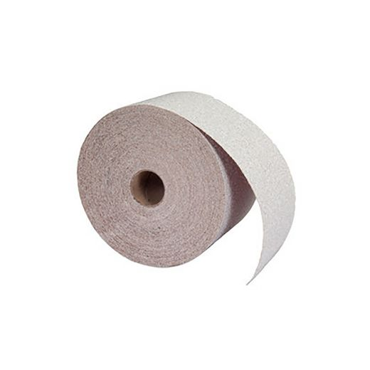 "2-3/4"" x 30 Yard Aluminum Oxide Paper PSA Roll 120 Grit"