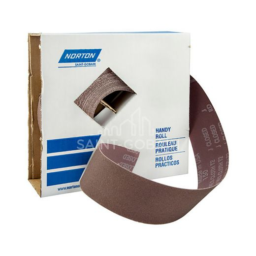 """2"""" x 50 YardAluminum Oxide Metalite Cloth Roll 50 Grit"""