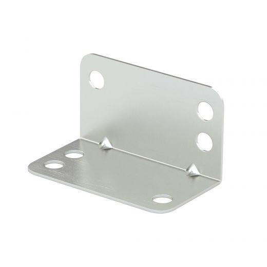 Multi-Position Corner Brace Bracket 1-in X 1-in X 1 3/4-in