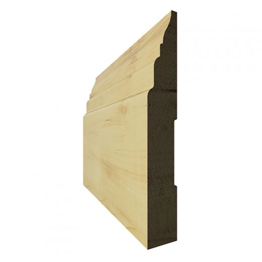 """Base Finger Jointed Pine B3 4-3/8"""" x 14'"""