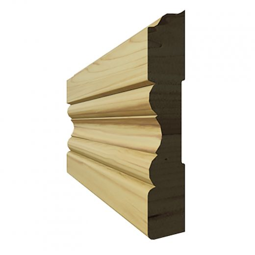 """Case Finger Jointed Pine(T-8) 3-1/2"""" x 7'"""