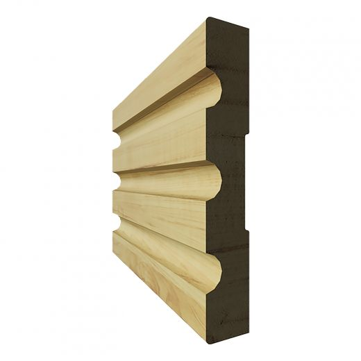 """Case Finger Jointed Pine (T-5) 3 7/8"""" x 7'"""