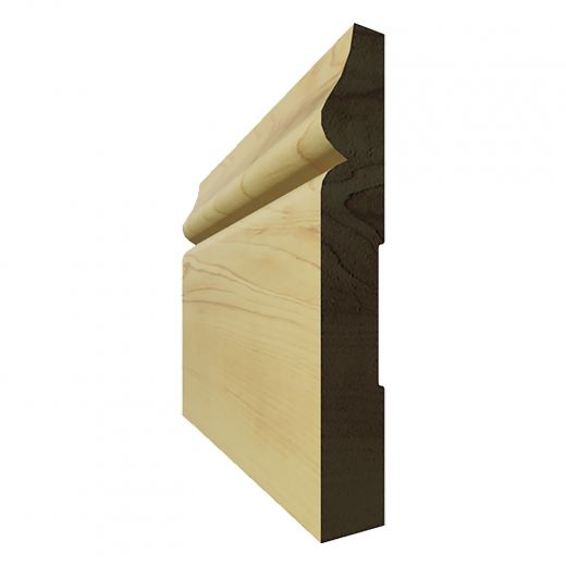 """Base Finger Jointed Pine (B-6) 4 3/8"""" x 8'"""