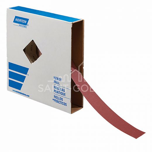 "2"" x 50 Aluminum Yard Oxide Metal Cloth Roll 150 Grit"