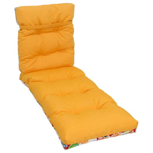 Reversible Lounge Cushion-Floral