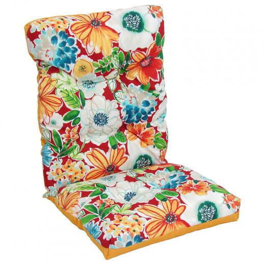 Reversible High Back Cushion-Floral