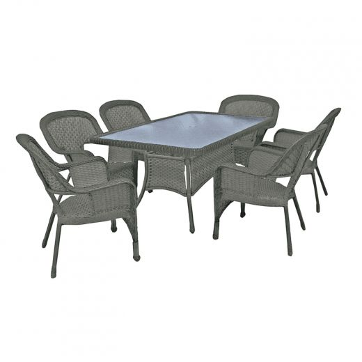 """Athens Dining Table 66"""" x 40"""""""