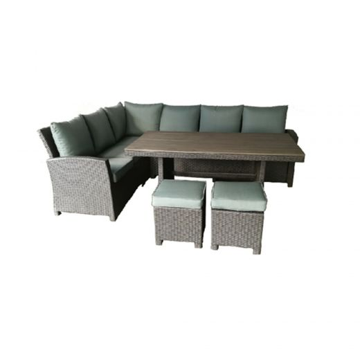 Stanhope Banquet Set(5pcs set) With Green Fabric
