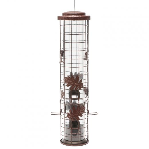 Squirrel-Be-Gone Cylinder Wild Bird Feeder