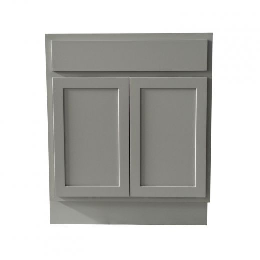 30 Inch Base Cabinet Grey Shaker, Kitchen Cabinets Kent Building Supplies