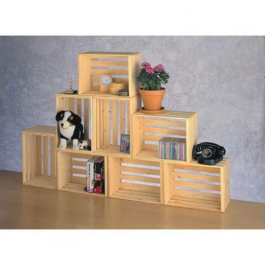 """16"""" Regular Pine Crate"""