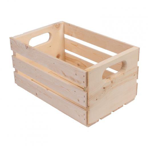 """15"""" Medium Pine Crate"""