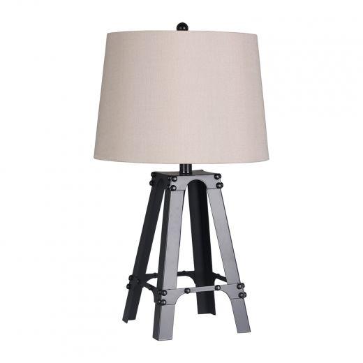 """26"""" Table Lampe de Paris Black"""