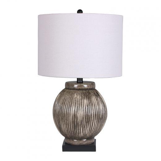 """Nutmeg 24"""" Table Lamp Silver"""