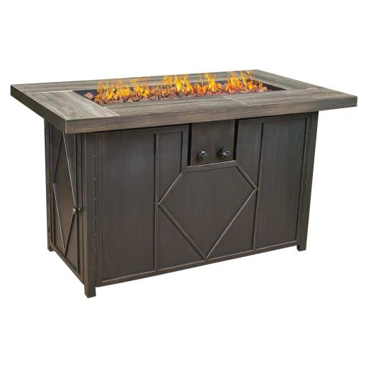 "42"" Rectangular Fire Table"