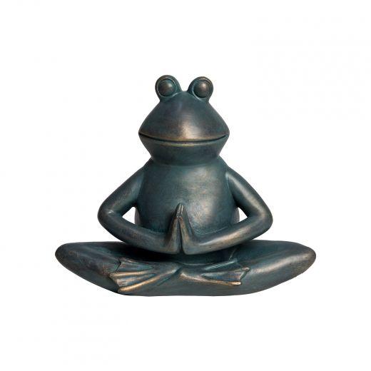 Frog In Namaste Pose