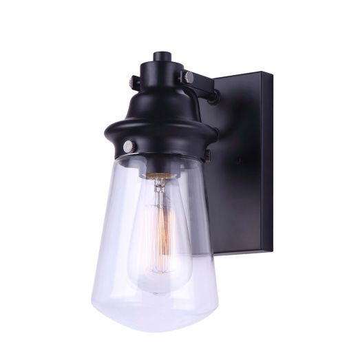 Korber 1 Light Matte Black Outdoor Downlight