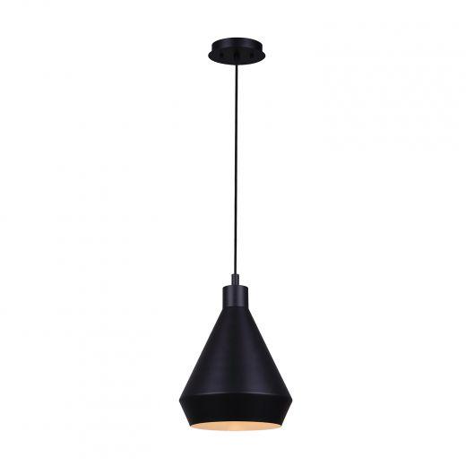 Byck 1 Light Matte Black Pendant