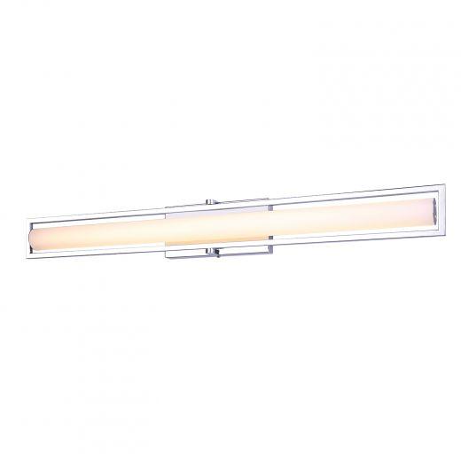 """Jori 36"""" LED Chrome Vanity Light"""