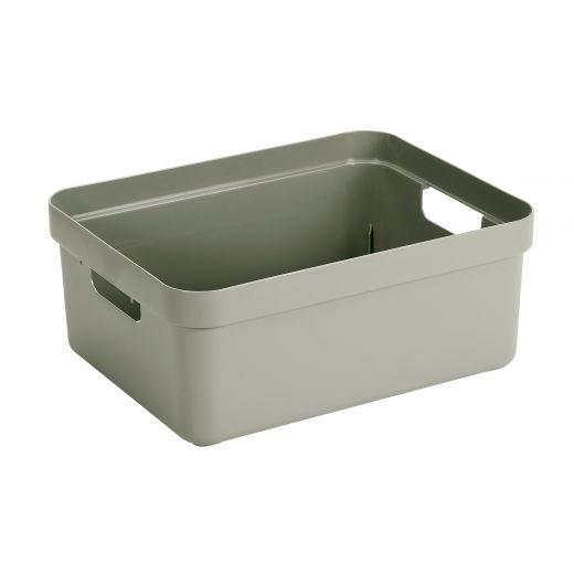 Sigma Home Storage Box - 24L - Green
