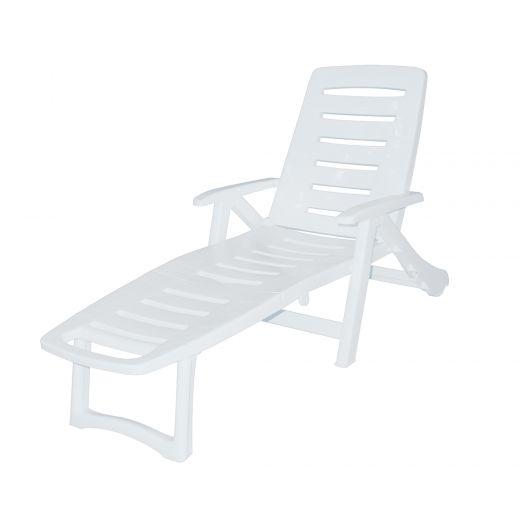 Antigua Lounger White