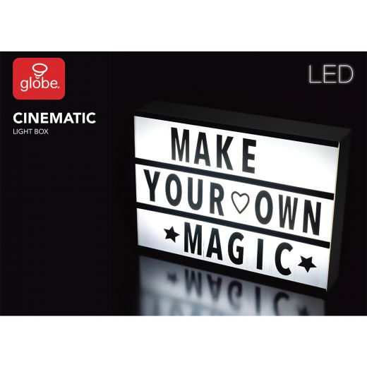 Large Cinema Box With 90 Letters