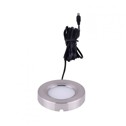 LED Undercabinet Brushed Nickel 1 Light Kit