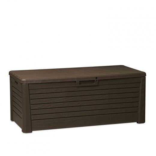 Florida 145 Gallon Brown Deck Box