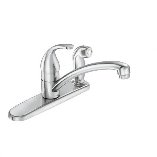 Adler Chrome 1-Handle Kitchen Faucet