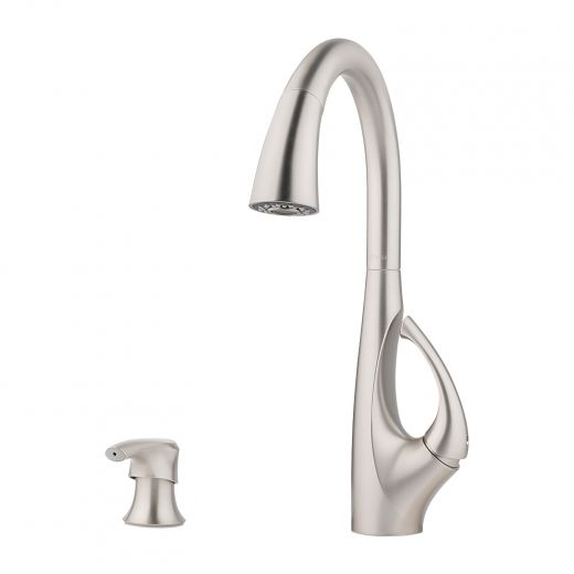 Jovi Pull-Down 1-Handle Pull-Down Kitchen Faucet