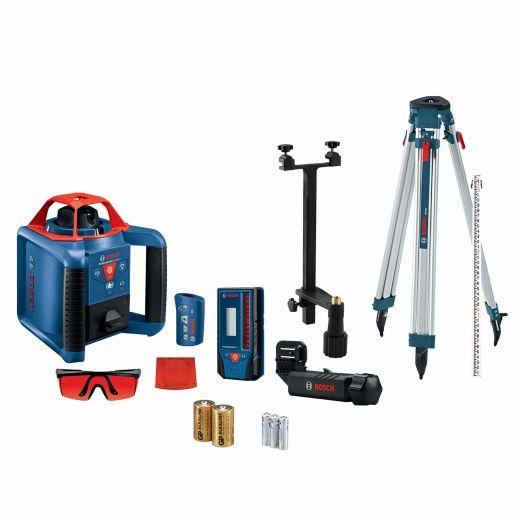 Self-Leveling Horizontal/Vertical Rotary Laser Kit