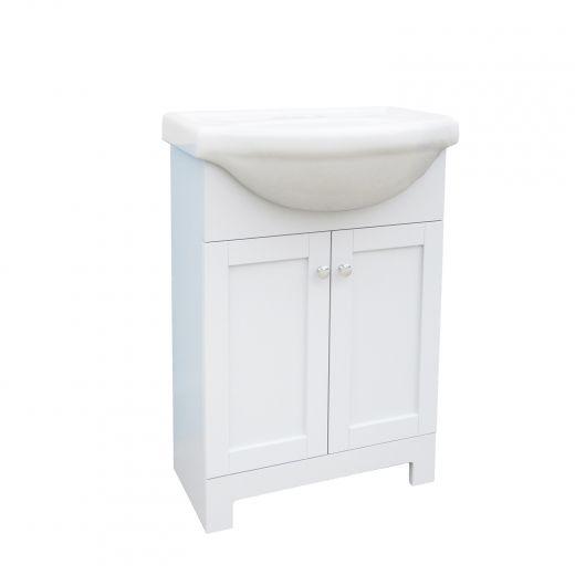 24 Inch Euro White Vanity-Shaker