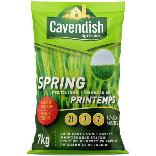 7 KG Cavendish Agri Spring Fertilizer 21-7-7