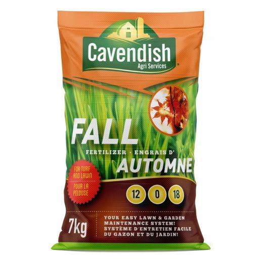 7KG Cavendish Agri Fall Fertilizer 12-0-18