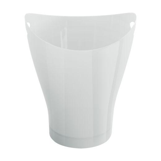 Garbino Gloss White Waste Can