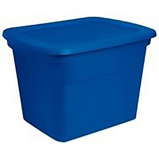 68 L Blue Morpho Plaste Storage Tote