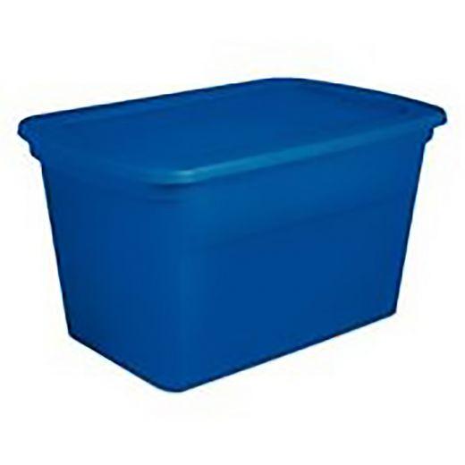 114 L Blue Morpho Plaste Storage Tote