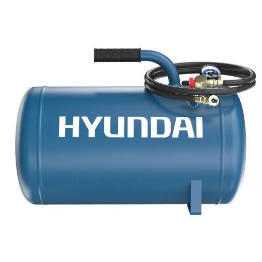 Hyundai 5 Gallon Portable Backup Air Tank for Vehicles With