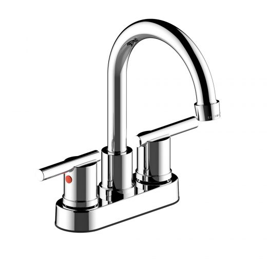 """Northern Lights 4"""" Center-Set Two Handle Lavatory Faucet Chr"""